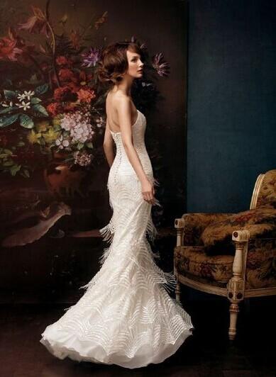 高个子矮个子准新娘选婚纱的结婚攻略
