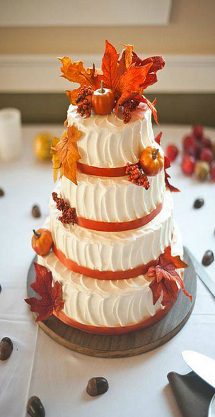 最新款最In的婚礼蛋糕 绝对的唯美又美味!