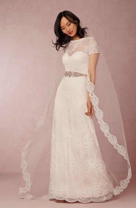 婚宴网为你支招 胸小的新娘要怎么选婚纱