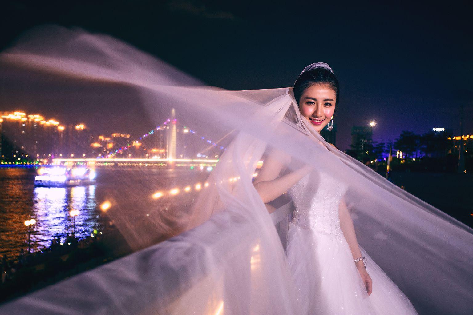 广州夜景婚纱照去哪里拍?这里有一份攻略