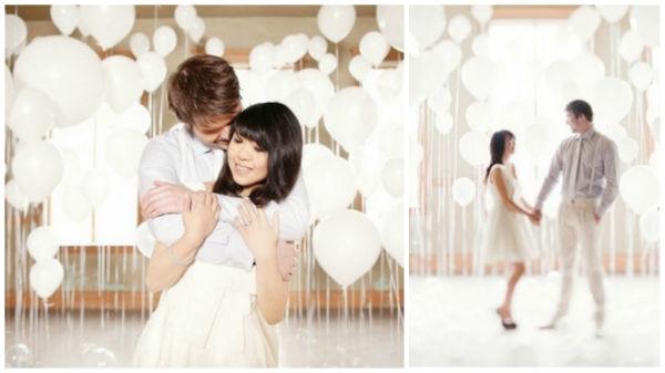 喜欢气球吗?一起来扒一扒婚礼创意气球!