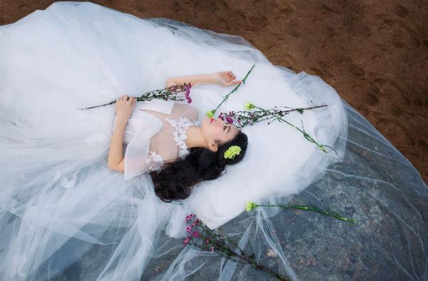 完美厦门婚纱摄影,新人拍摄结束卸妆小技巧