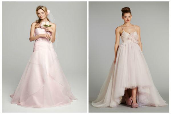 粉色婚纱礼服是你想要的吗?婚礼猫带你去瞧瞧