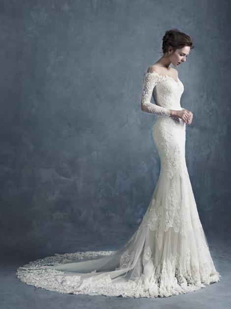 2015最新最时尚的新娘婚纱礼服