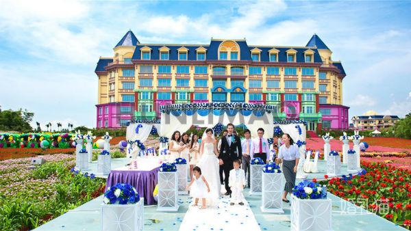 广州南沙婚宴酒店推荐:广州百万葵园花之恋酒店