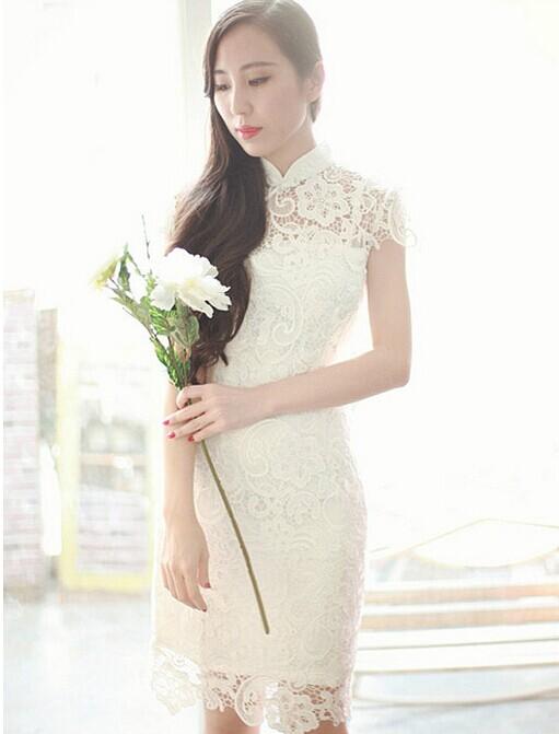 旗袍嫁衣之美 做个传统高贵的美丽新娘