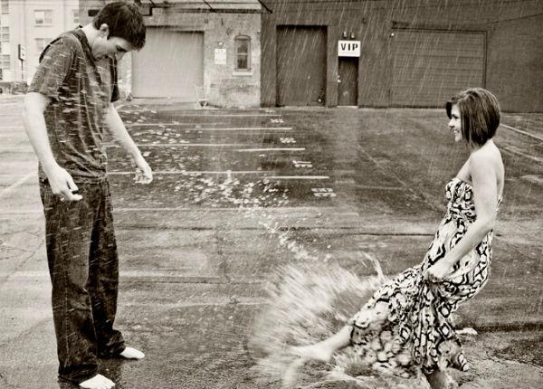 原来订婚照也能像婚纱照这样玩!