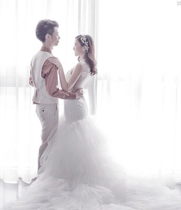 新人喜爱的7种不同风格的婚纱照