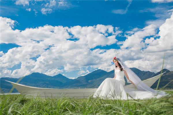 丽江婚纱摄影景点攻略:拉市海