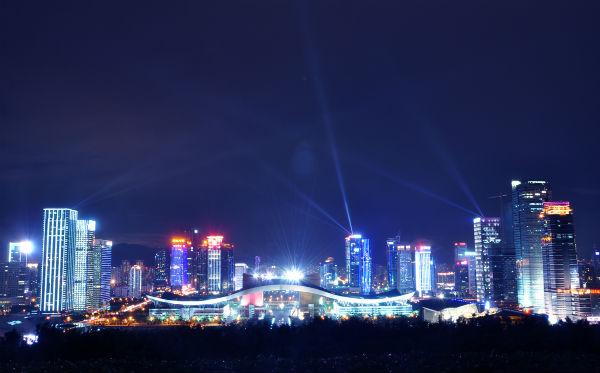 深圳婚纱摄影景点攻略:深圳市民中心
