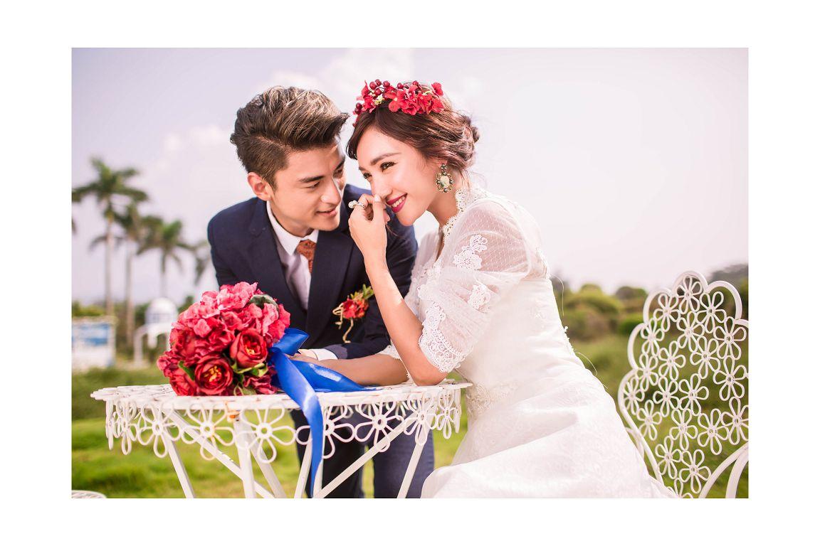 欧美风格婚纱照拍摄特点 受人追捧不落俗套