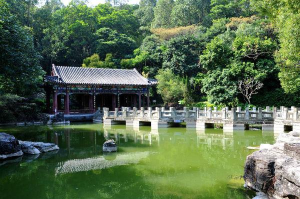 深圳婚纱摄影景点攻略:深圳园博园