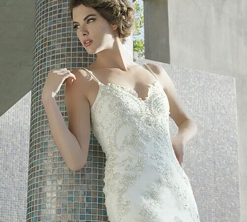 胖新娘要如何选婚纱才显瘦