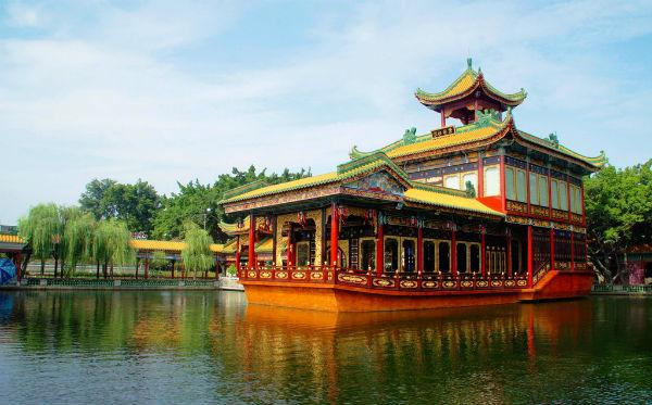 广州婚纱摄影景点攻略:番禺宝墨园