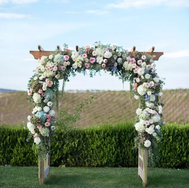 婚庆拱门布置,布置踏入幸福的第一步