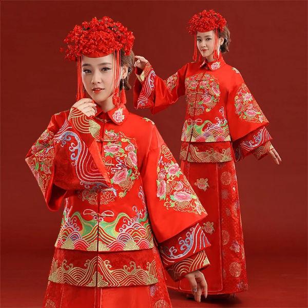 中式礼服要如何搭配,你真的懂吗?