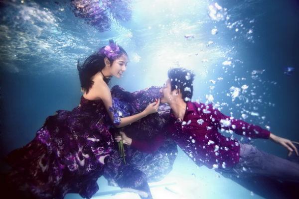 水下婚纱照怎么拍?水下婚纱照拍摄要点