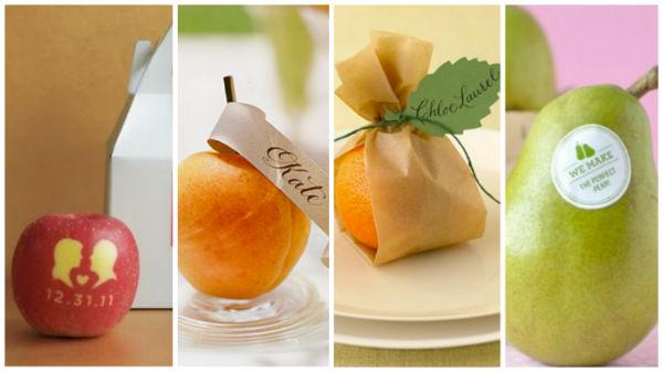 婚宴上水果就应该这样装饰!