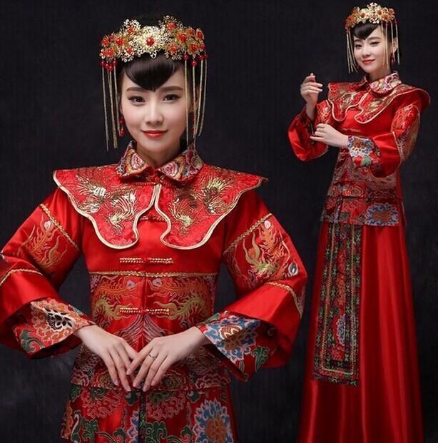 红色复古婚礼布置技巧 专属的红色浪漫