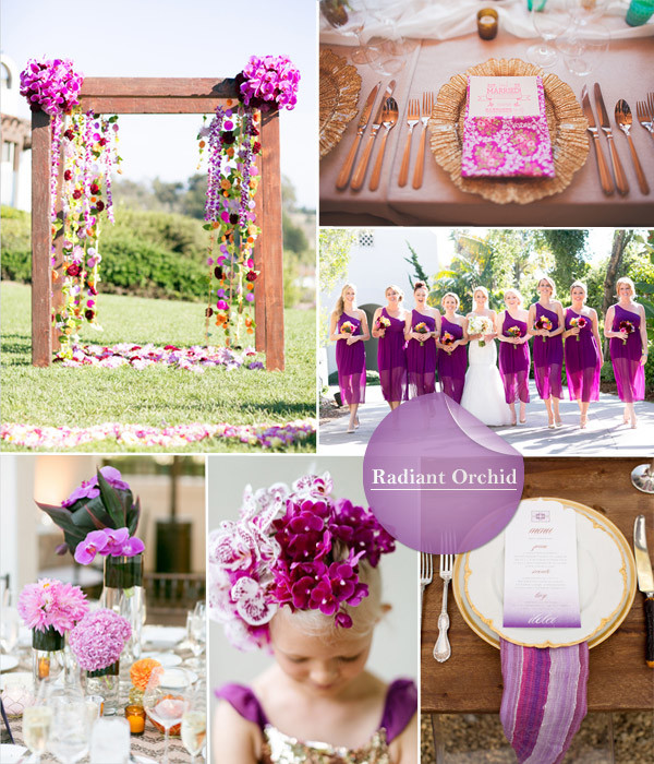 最新的2015婚礼流行色大公开
