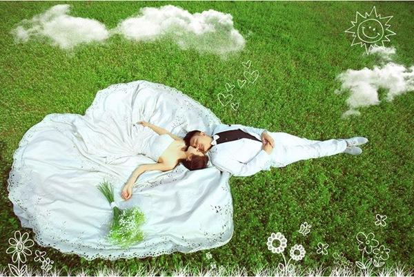 婚纱摄影最常用的三个摆姿,你都知道吗?