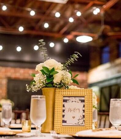 金色绿色之爱 婚礼主题色调 婚礼猫