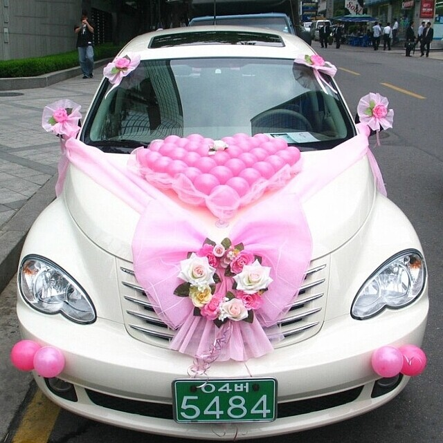 婚礼花车装饰方法大全 婚礼猫