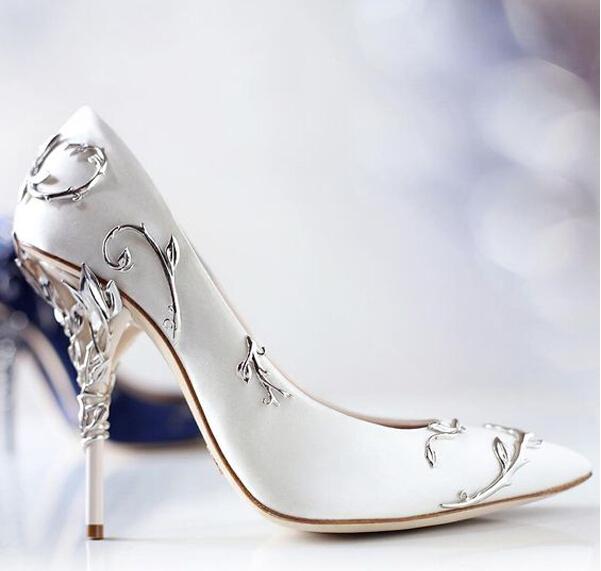 美得不可思议的婚鞋!