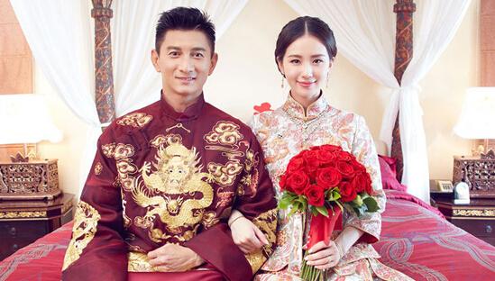 穿中式礼服结婚的女星,哪个最美?-婚礼猫结婚资讯频道图片