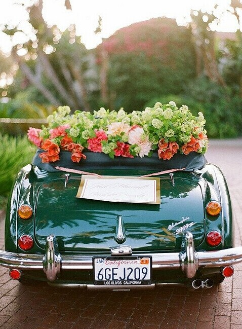 婚宴网教你婚车上鲜花的选择有哪些禁忌