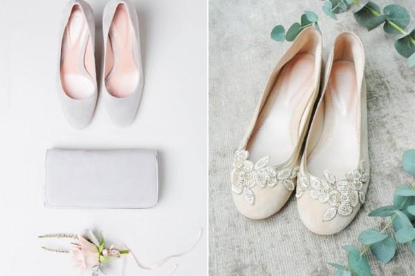 拍婚纱照穿什么鞋好?平底鞋VS高跟鞋