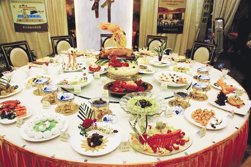 酒店婚宴菜单设计精选