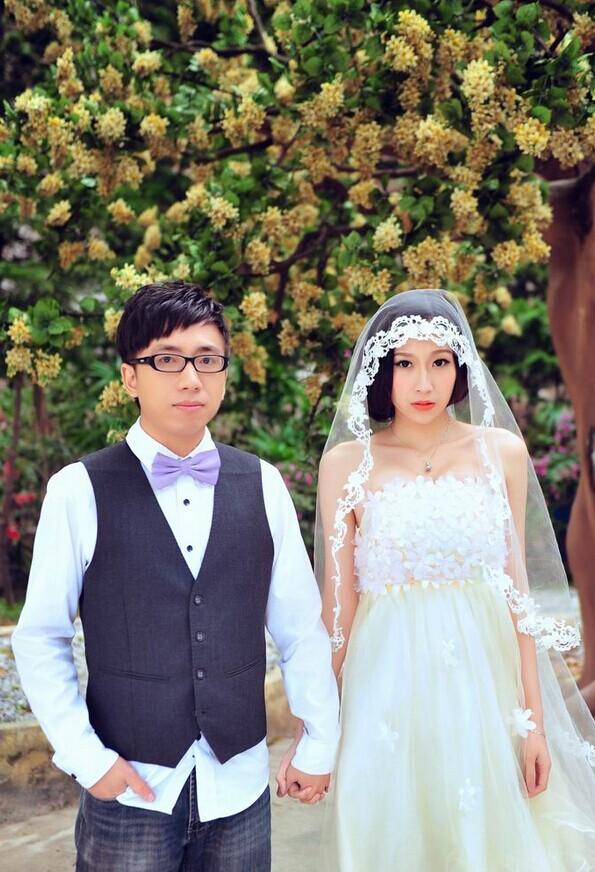80后新人首选风格 韩式婚纱摄影