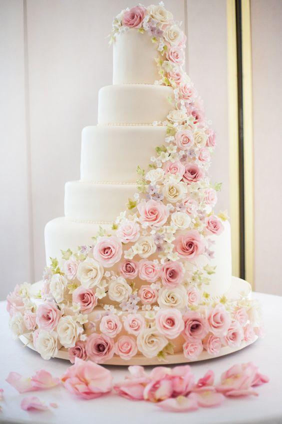 一个少女心的粉色婚礼,你需要这些...