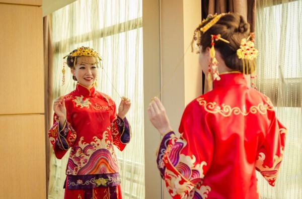 中式婚纱照这五大风格,你最爱哪一种呢?图片