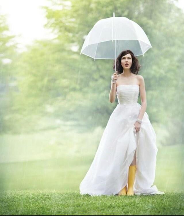 结婚当天下雨怎么办?准备好B计划