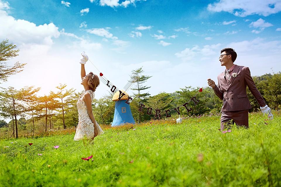 广州婚纱摄影工作室哪家好?婚礼猫是不错的