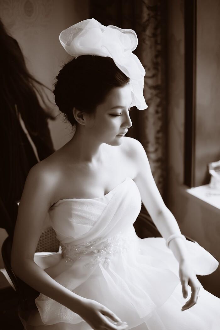 新娘婚纱美丽行 简约但不简单的婚纱