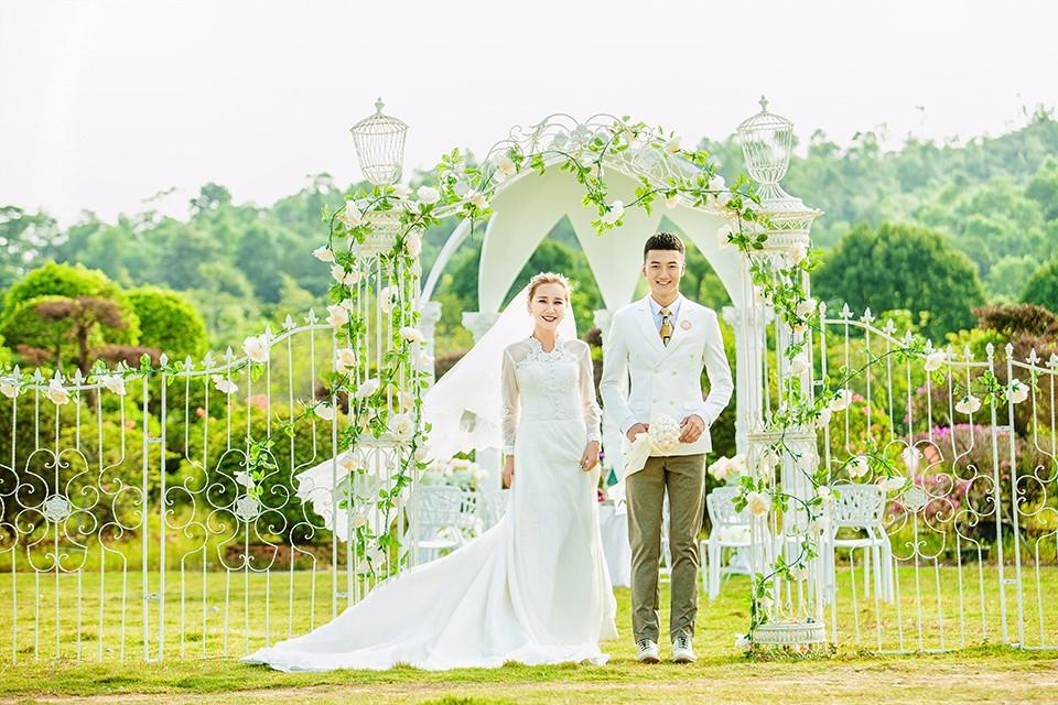 广州二沙岛婚纱照拍摄效果怎么样?