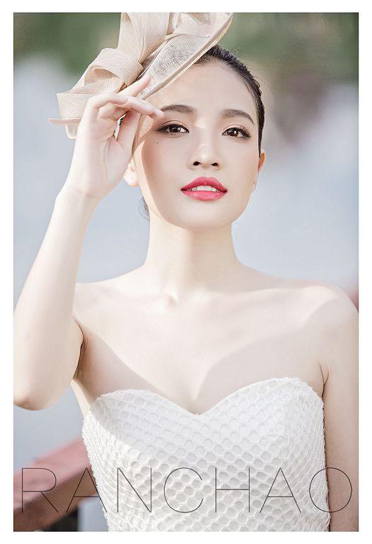 选择各种代表色,打造迷人中式新娘妆容