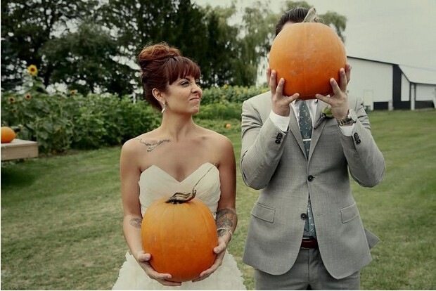 搞怪刺激的万圣节主题婚礼,你敢尝试吗?