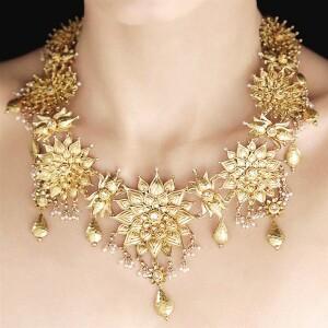 婚礼上的金色 金饰结婚系列