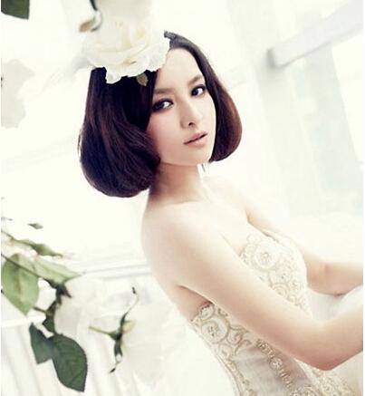 必看:十款经典唯美新娘发型