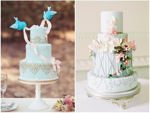 美得让人不忍下嘴的艺术派婚礼蛋糕!