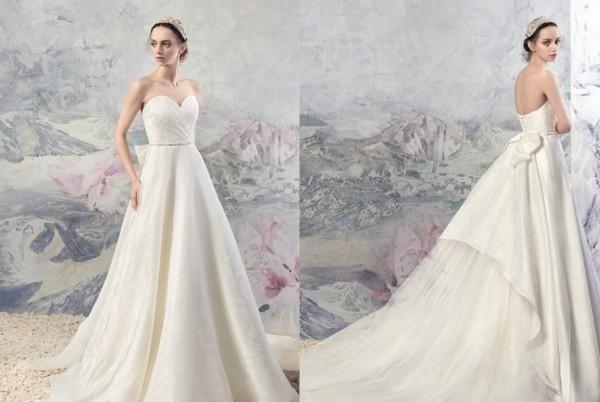 梦幻公主风的婚纱礼服,是你想要的吗?