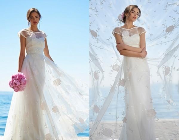 夏季婚纱礼服,打造非凡的夏日新娘风情!