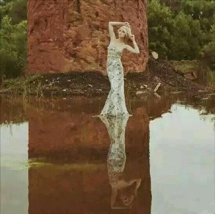 最新的婚纱照的流行潮流