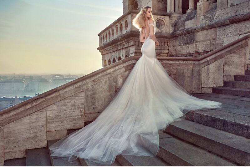 鱼尾婚纱——做优雅的人鱼公主