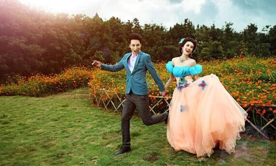 爆红网络的婚纱照 看别人拍摄婚纱照的技巧