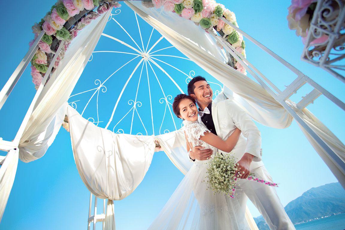 2017最流行的婚纱照风格 摆脱千篇一律